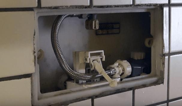 cassetta wc scarico