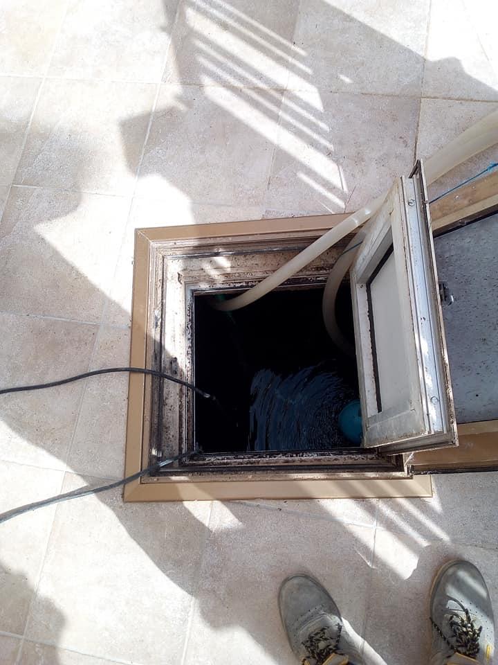 aspira liquidi cisterna