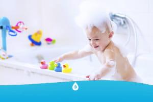 bagno divertente per bambini