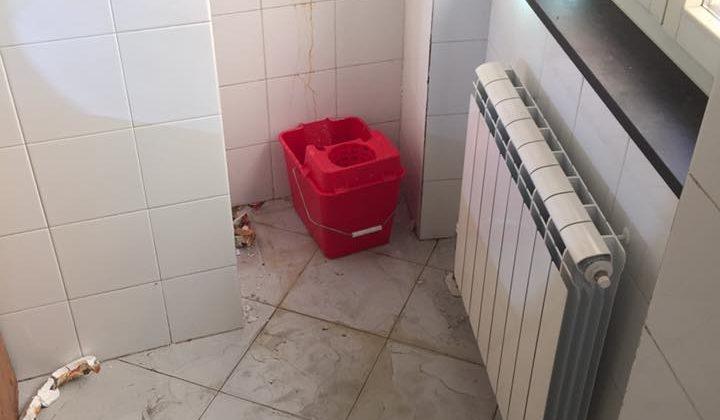Infiltrazione proveniente dall'appartamento sfitto al piano superiore