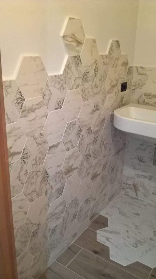 altezza giusta rivestimento bagno