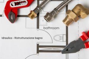 idraulico per ristrutturazione bagno