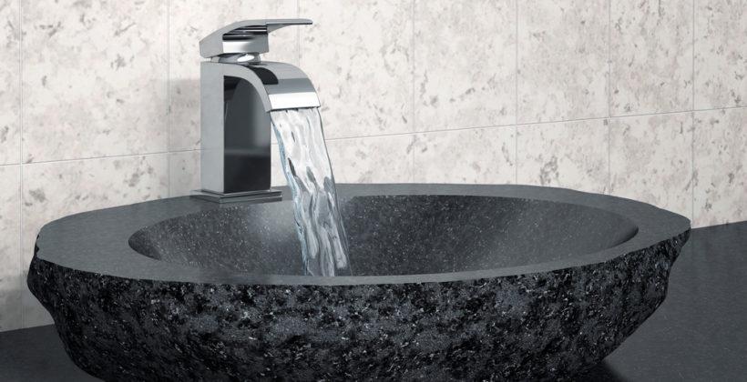 Design in bagno: il fascino dei lavandini in pietra