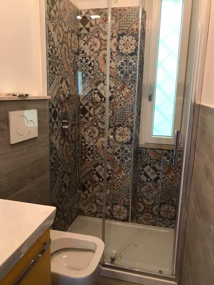 altezza rivestimento parete bagno