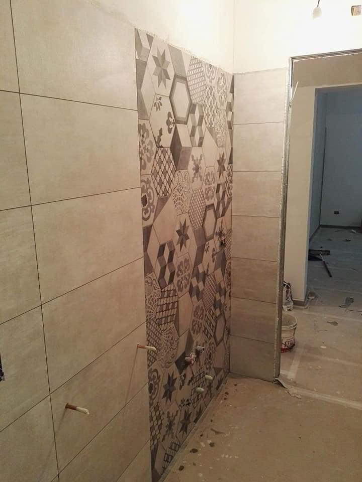 piastrelle pareti altezza bagno