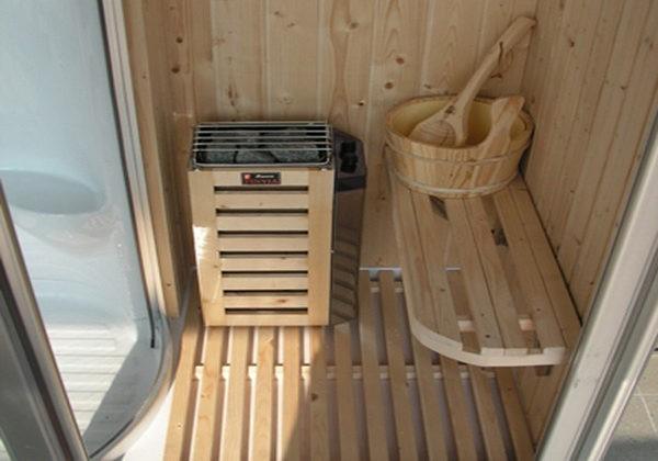 Sauna in casa: fai da te
