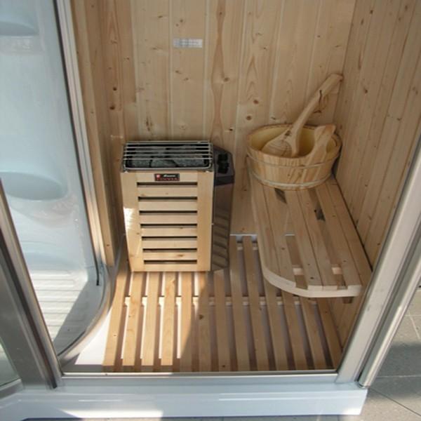 cabina per sauna bagno