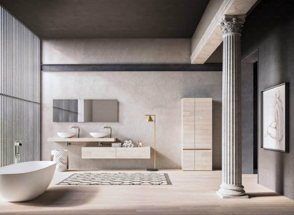 stanza da bagno e arredamento