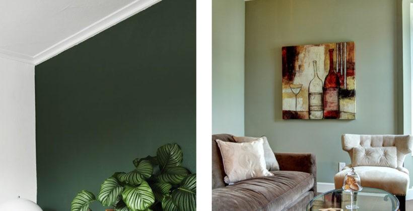 Come pitturare casa se hai infissi verde scuro, pavimento beige e porte color legno
