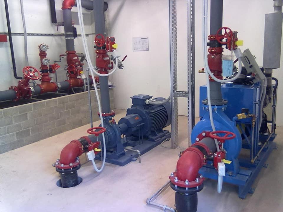 Sprinkler impianto e funzionamento