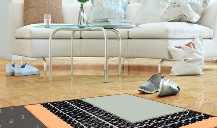 Ristrutturare il pavimento: riscaldamento a pavimento