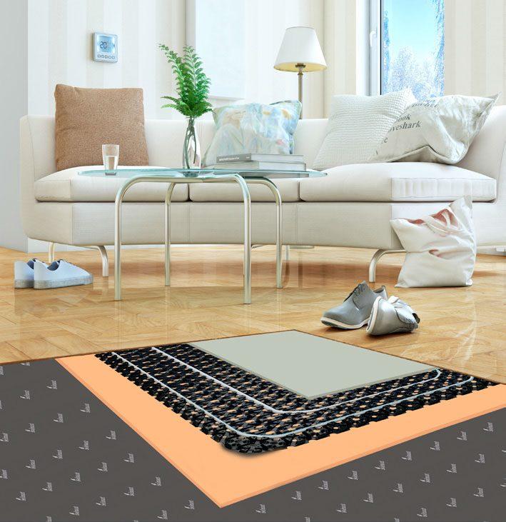 ristrutturare pavimento e riscaldamento
