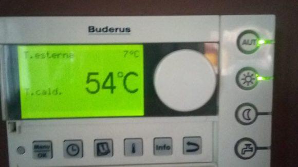 istruzioni termostato buderus rc35